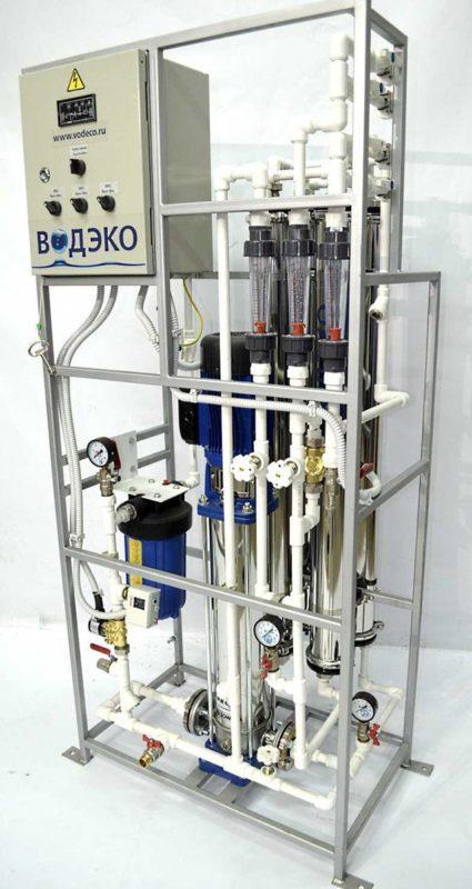 Установка обратного осмоса Aquaflow RO 40-0.75-L-PP