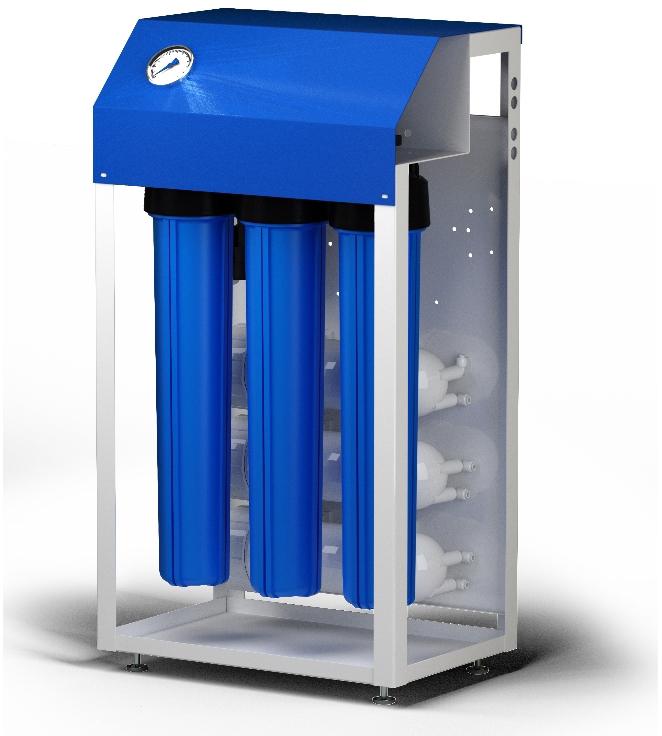 Система обратного осмоса Гейзер Престиж 3 Профи исп. 2 с автоматической промывкой