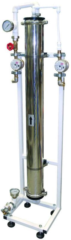 Установка обратного осмоса Гейзер RO 01×4040 XLP вертикальная без насоса