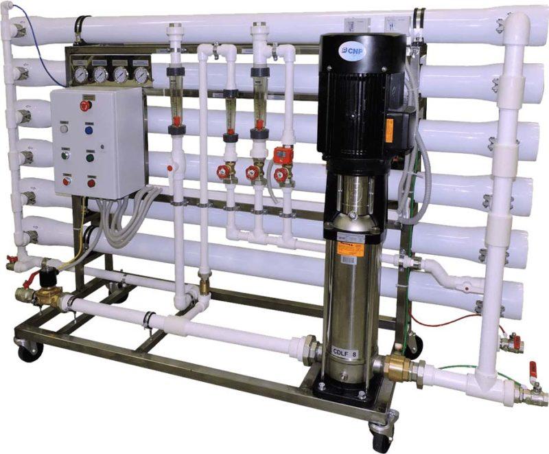 Установка обратного осмоса Гейзер RO 12×4040 горизонтальная
