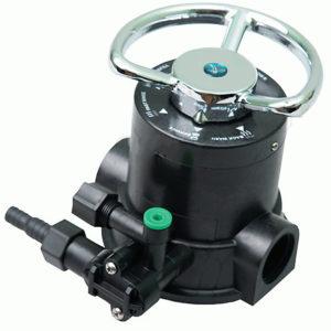 Клапан ручного управления умягчителем Runxin F64A