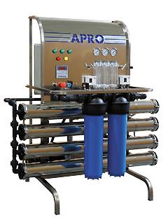 Система обратного осмоса Аквафор APRO HP L-500-G-D-F